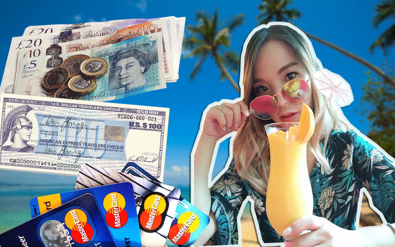 出國消費用現金.信用卡.簽帳金融卡.旅行支票哪個好?四大支付工具評比